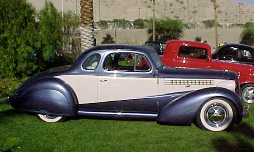 CARL & BOBBIE ATKINSON'S '38 CHEVY COUPE &'40 BUICK SEDAN - Over The