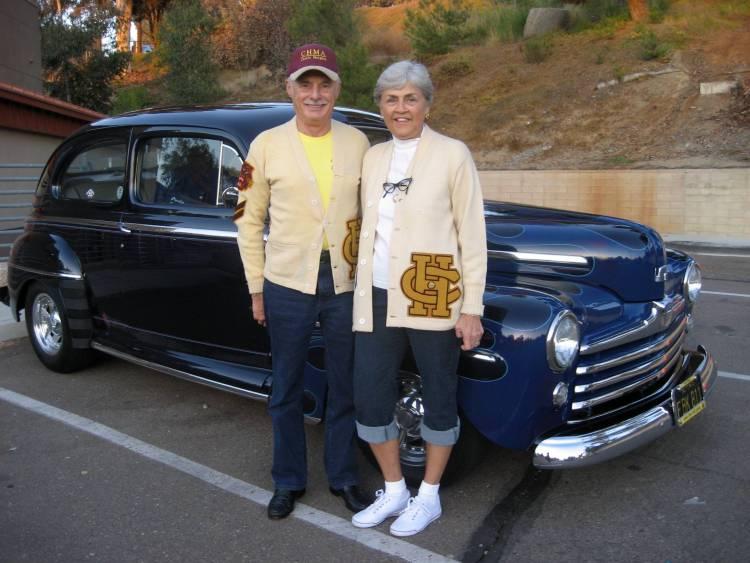 members rides over the hill gang san diego 1947 Ford Tudor Black joe paula pifer s 46 ford coupe 47 ford tudor sedan